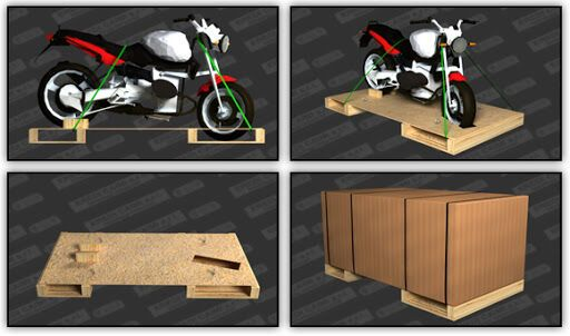 trasporto moto con corriere espresso