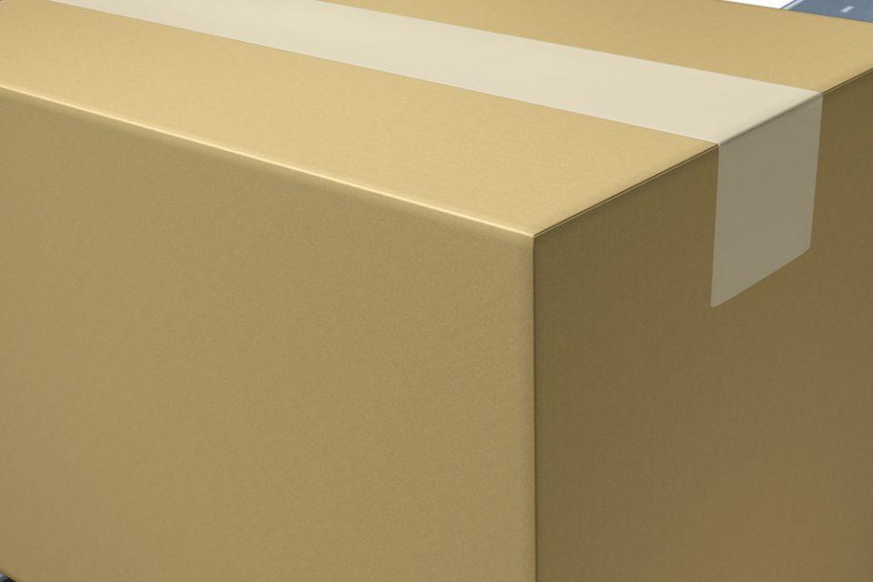 Scegliere una scatola rigida e resistente agli urti e agli spruzzi. Controllare che l'imballaggio non sia in alcun modo danneggiato e che i bordi siano intatti. Scatole usurate o deteriorate possono perdere dal 30% al 60% della resistenza.