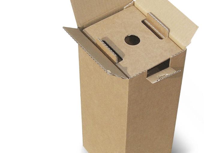 scatola cartone omologata per spedizioni da 1 bottiglie